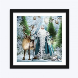 Animals & Santa Claus  Art Kit