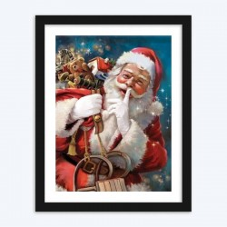 Christmas &  Santa Claus  Diamond Painting Kit