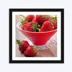Dish Full of Strawberries