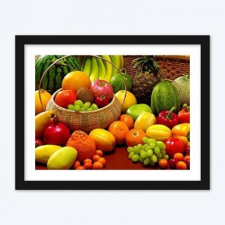Basket of Vegetables & Fruits