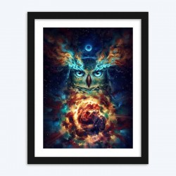 Abstract Owl  Art