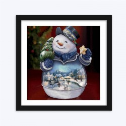 Snowman Magical Globe