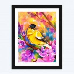 Beautiful Birds and Flowers  Art Kits