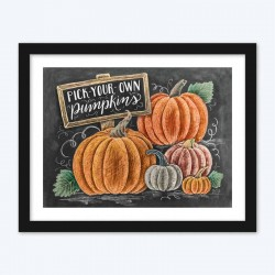 Beautiful Pumpkin DIY Diamond Painting