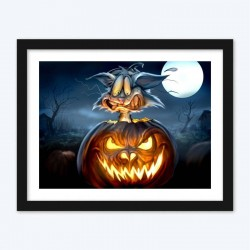 Halloween & Moon  Art Kit