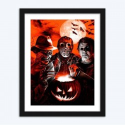 Happy Halloween  Art Kit