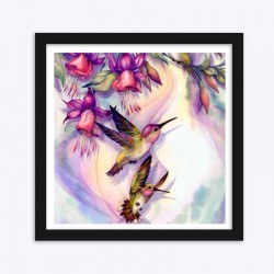 Adorable Hummingbirds & Beautiful Flowers
