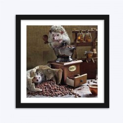 Hedgehogs with the Coffee