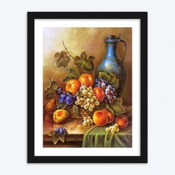 Fruits Amazing Still Life Diamond Painting