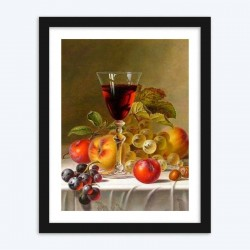 Fruits & Wine in GlasseStill Life Diamond Painting