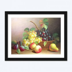 Fruits & Bunch of Grapes