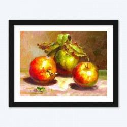 Apples Still Life  Art Kit