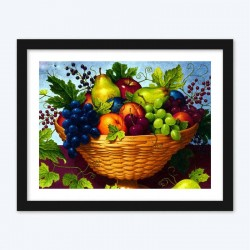 Appealing Fruit Basket Art Kit