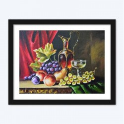 Fresh Fruits Still Life DIY Diamond Painting Kit