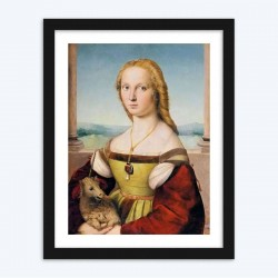 Lady with Unicorn Diamond Painting by Raphael
