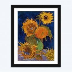 Van Gogh Sunflowers Diamond Painting Kit