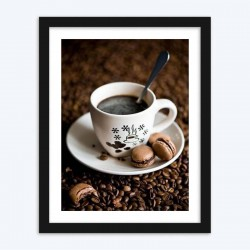 Coffee  Art Diamond Painting Kit