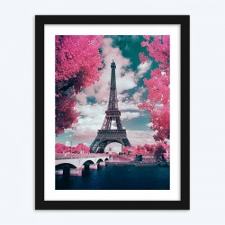 Eiffel Tower Paris Art Kit