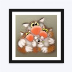 Cartoon Cats  Art Kits