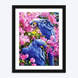Parrots on Branches  Art