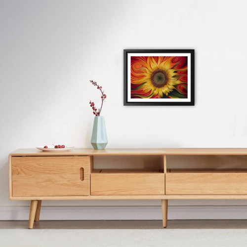 Awesome Artistic Sunflower Diamond Painting