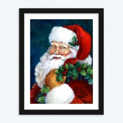 Christmas Santa Claus DIY   Diamond Painting