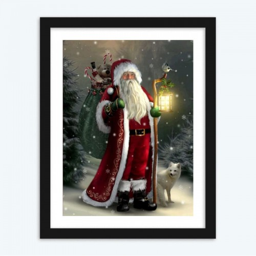5d Christmas  Santa Claus 5D DIY Diamond Painting