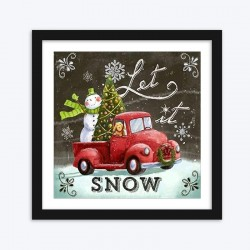 Let it Snow Christmas Diamond Painting